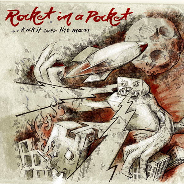 ...kick it over the moon!!!! von Rocket In A Pocket