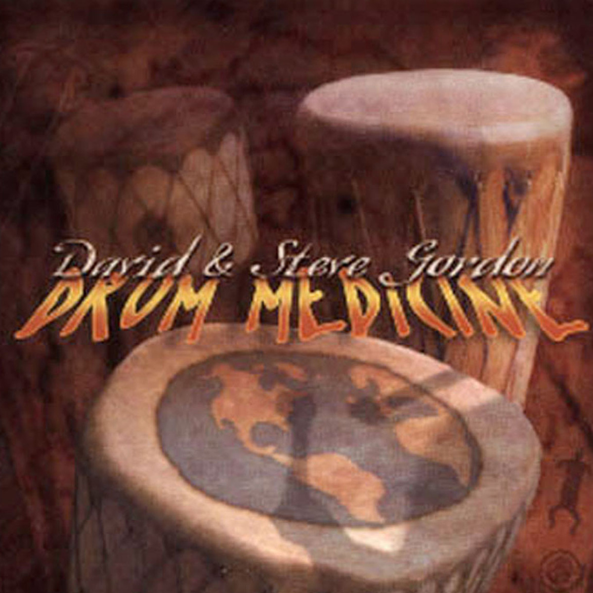 Drum Medicine by Gordon, David & Steve