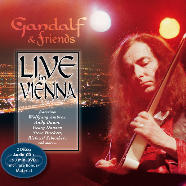 Gandalf - Live In Vienna (CD & DVD)