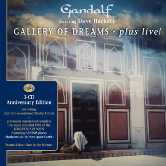 Gallery Of Dreams - plus live! von Gandalf feat. Steve Hackett