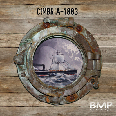 Cimbria - 1883 by BMP (Bork Marcator Project)